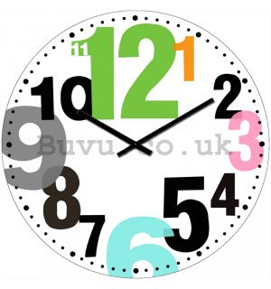 Glass wall clock - Alternative (2)