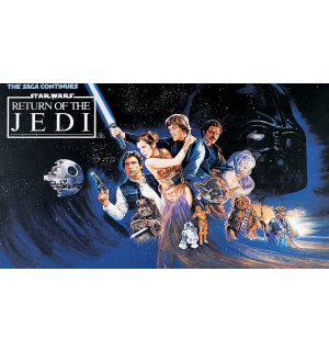 Wall Mural: Star Wars Return of the Jedi (1) - 254x368 cm