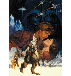 Wall Mural: Star Wars The Empire Strikes Back (1) - 254x184 cm