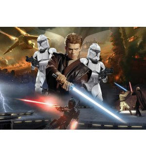 Wall Mural: Star Wars Attack of the Clones (2) - 184x254 cm