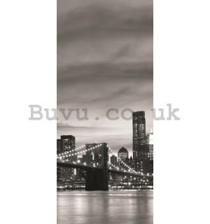 Photo Wallpaper Self-adhesive: Brooklyn Bridge - 211x91 cm