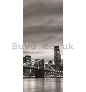 Wall Mural: Brooklyn Bridge - 211x91 cm