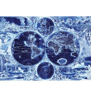 Wall Mural: UV Earth - 184x254 cm