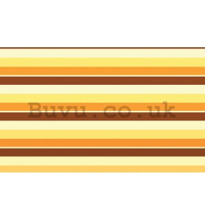 Wall Mural: Warm undertones (stripes) - 184x254 cm