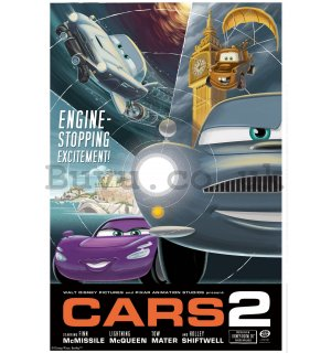Wall Mural: Cars 2 (advertisement) - 184x254 cm