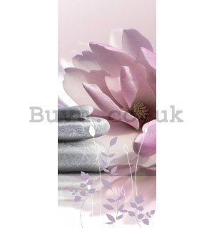 Photo Wallpaper Self-adhesive: Zen - 211x91 cm