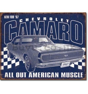 Metal sign - Chevrolet Camaro