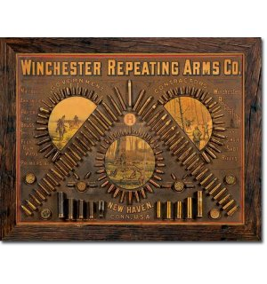 Metal sign - Winchester Repeating Arms