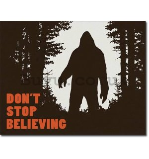 Metal sign - Do not Stop Believing