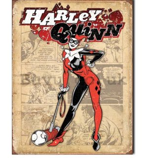 Metal sign - Harley Quinn (1)