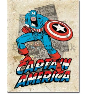 Metal sign - Captain America (2)