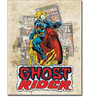 Metal sign - Ghost Rider (1)