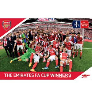 Poster - Arsenal FC (FA Cup)