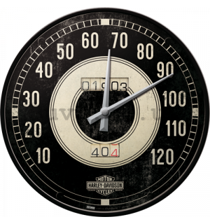 Retro wall clocks - Harley-Davidson speedometer