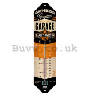 Retro thermometer - Harley-Davidson Garage