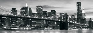 Wall Mural: Brooklyn Bridge - 104x250 cm