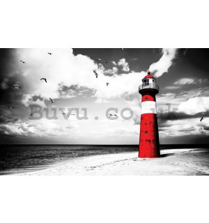 Vlies wall mural : Lighthouse - 184x254 cm