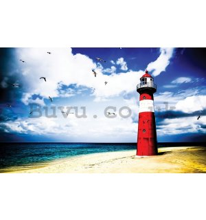 Painting on canvas: Lighthouse (3) - 75x100 cm