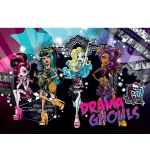 Wall Mural: Monster High (Drama Ghouls) - 254x368 cm