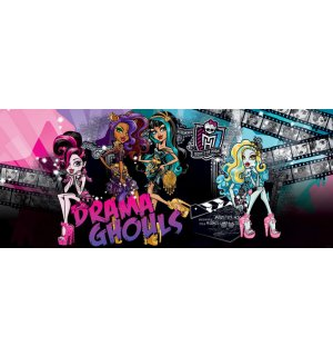 Wall Mural: Monster High (Drama Ghouls) - 104x250 cm