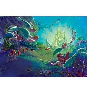 Wall Mural: The Little Mermaid (2) - 254x368 cm