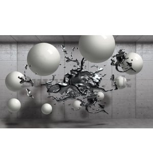 Wall Mural: Abstraction (splash) - 184x254 cm