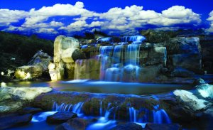 Wall Mural: Waterfall (2) - 184x254 cm