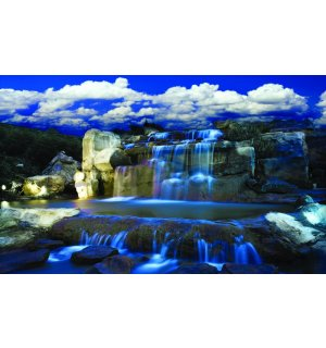 Wall Mural: Waterfall (2) - 254x368 cm