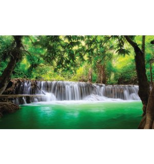 Wall Mural: Waterfall (3) - 184x254 cm