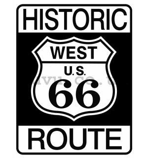 Metal sign - Historic Route 66