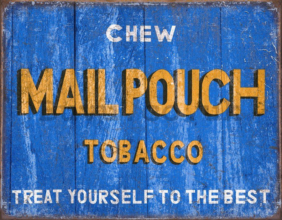 Metal sign - Mail Pouch (Monaco)