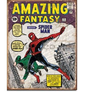 Metal sign - Amazing Spiderman