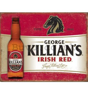 Metal sign - Killian's Irish Red