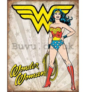 Metal sign - Wonder Woman