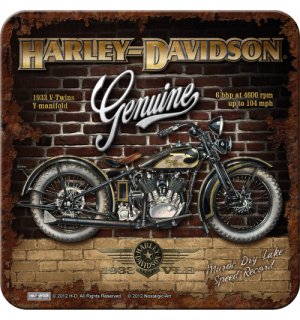 Set of coasters 2 - Harley-Davidson Genuine 1933