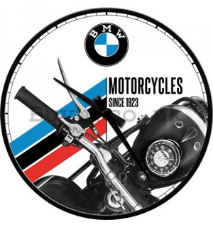 Retro wall clocks - BMW (Motorcycles since 1923)