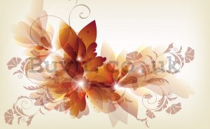 Wall Mural: Colourful flowers (4) - 184x254 cm