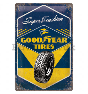 Metal sign: Good Year Tires  - 30x20 cm