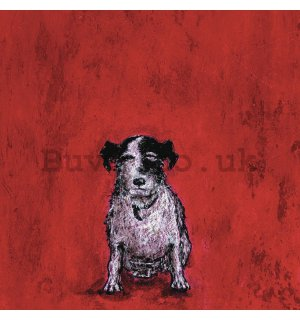 Painting on canvas: Sam Toft, Small Dog