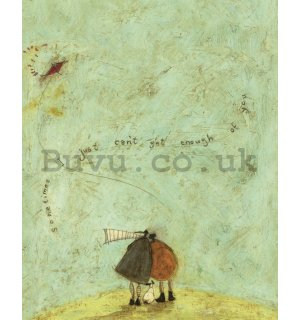 Painting on canvas - Sam Toft, I Just Can't Get Enough of You