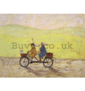 Painting on canvas: Sam Toft, Grand Day Out