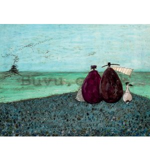Painting on canvas: Sam Toft, The Same as it Ever Was