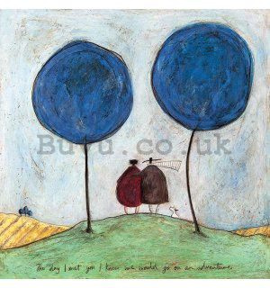 Painting on canvas: Sam Toft, The Day I Met You