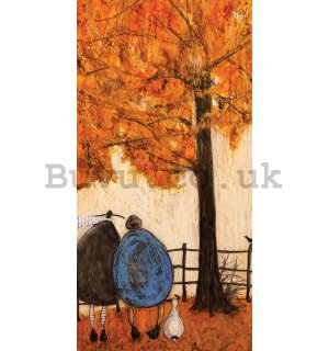 Painting on canvas: Sam Toft, Autumn