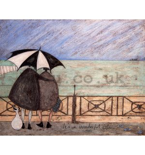 Painting on canvas - Sam Toft, It's a Wonderful Life