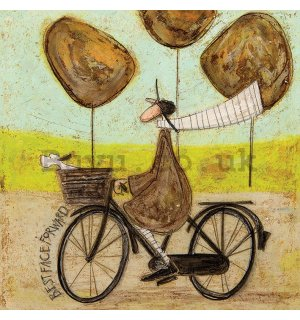 Painting on canvas: Sam Toft, Best Face Forward