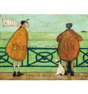Painting on canvas - Sam Toft, I Hope I'm Always with You