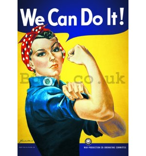 Poster - We Can Do It