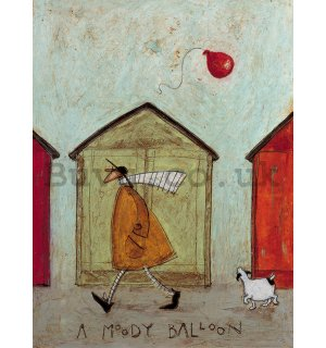 Painting on canvas: Sam Toft, A Moody Balloon