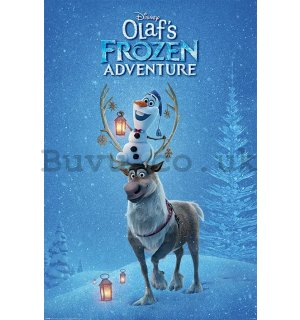 Poster - Olaf's Frozen Adventure